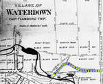 Old Waterdown and Port Flamboro Road, 1875