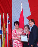 Jane Irwin, Queen's Jubilee Medal presentation, Canada Day 2012