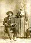 David Jack, head of the Seneca and Cayuga berry pickers on Fishers Farm, Guelph Line, with his wife Maggie Jack.