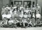 East End (after 1958, Lakeshore) School grade 7 class (Mr Edward Scott), October 1955
