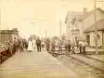 Second Railway Station at Freeman, ca 1900