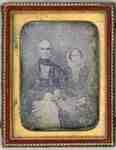 Dr Nathaniel Bell and his first wife, Sarah (Sally) Cline Bell
