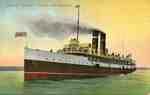 "Steamer ""Turbinia"", ca 1910"