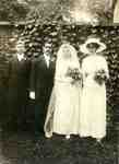 Wedding of Edwin James (Jim) Whatmough Jr and Ethel Grace Gallagher, July 1913