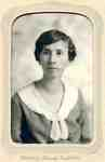 Helen Gallagher, Macdonald Institute graduation portrait, ca 1920