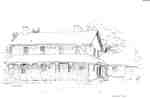 Ireland House, drawing by Gery Puley, 1978