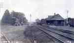 "Aldershot ["" Waterdown""] train station, ca 1910"