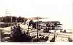 Brant Inn, aerial view, ca 1920