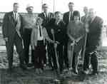 Martinizing Cleaners ground-breaking ceremony, 1968