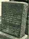 Grave of Captain William Kerr and his wife Elizabeth Brant, St Lukes Anglican Church yard,