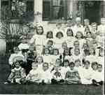 Primary class of the Methodist Church, left half of image