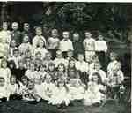 Primary class of the Methodist Church, right half of image