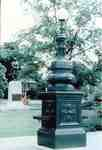 King Edward VII Memorial Fountain, Civic Square, southwest corner of Brant Street and Ontario Street, ca 1998