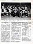 """Nicholson's """"The Window"""", p. 3, February 1954: Lumber Kings coach introduces the players in the B.D. Hockey League"""