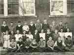 S. S. # 4 Nelson, Fishers Corners School, Grades 5 to 8 class, 1944
