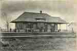 Grand Trunk Railway Burlington Junction station at Freeman, ca 1910