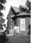 Herberton House with owners Joseph and Mary Weber, ca 1945