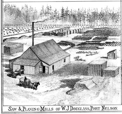 W. J. Douglass Planing Mill, Port Nelson, 1877