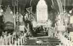 Souvenir Folder, St Lukes Church interior, ca 1918