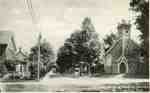 Souvenir Folder, Locust Street and Calvary Baptist Church, ca 1918