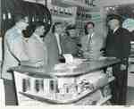 Opening of the new B. A. service station, Lakeshore Road and Pomona Avenue, June 1956