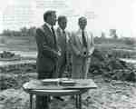 Sod-turning for the new Head Office of The Hamilton Group, 1972