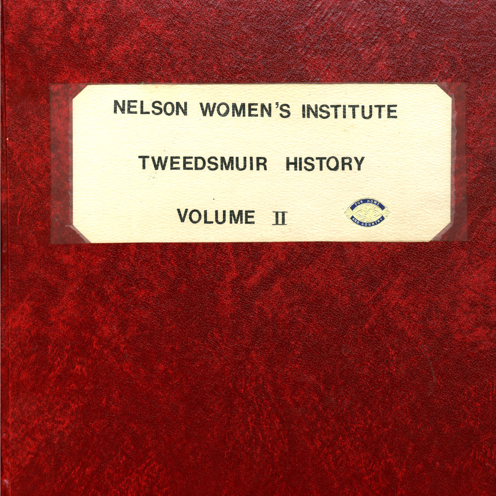 Nelson Women's Institute Tweedsmuir History, Book II (of 3 Books, currently available on OurOntario.ca)