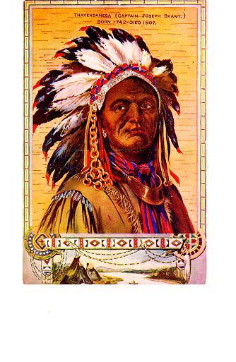 Thayendanega (Captain Joseph Brant) -- illustration