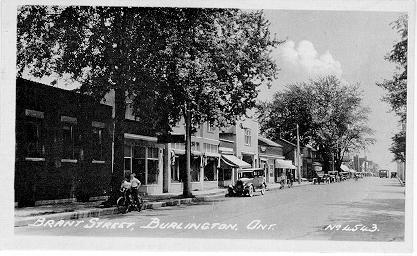 Brant Street, Burlington, Ont. -- No. 4543.