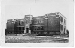 Public Sch. Burlington, Ont -- Exterior; postmarked October 27, 1914