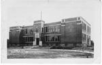 Public Sch. Burlington, Ont -- Exterior; postmarked October 27, 1914