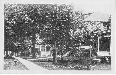 Ontario St., Burlington, Ont.