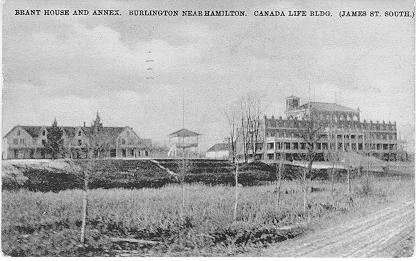 Brant House and Annex. Burlington Near Hamilton. Canada Life Bldg. (James St. South.); postmarked August 3, 1907