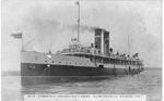 Str. Turbina Entering Canal, Burlington Beach, Ont; postmarked September 13, 1917