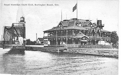 Royal Hamilton Yacht Club, Burlington Beach, Ont.