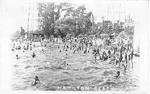 Hamilton Beach; postmarked July 18, 1921