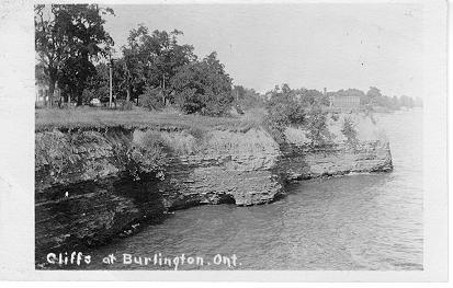 Cliffs at Burlington, Ont.