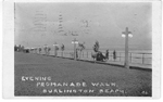 Evening Promanade Walk, Burlington Beach; postmarked August 12, 1918