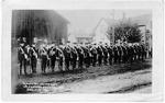 Burlington Volunteers, Ist Canadian Contingent; postmarked 1914