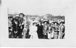Marriage Scene; postmarked December 5, 1910