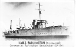 H.M.C.S. Burlington (Minesweeper) Cermonies Burlington September 10th 1941