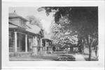Brant St., Burlington, Ont.-- view of homes on left-hand side