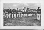 Fire Brigade, Burlington, Ont-- marching