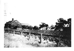 The Fisher Farm viewed from the railway crossing on Guelph Line, ca 1900