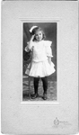 Edith Fisher on her 6th Birthday, 1903