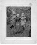 Fisher Family --Mrs George Webstergranddaughters FlorenceIsabelle, ca 1896