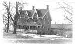 The Joseph Freeman house, north side of Plains Road west of Brant Street, ca 1950s