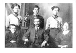 The J. Rendell Job family,  circa 1910