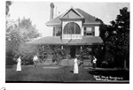 "Charles Mills Summer Residence, ""Thayendanegea"", northeast corner of Water Street and Brant Avenue (now Lakeshore Road and Brock Street), ca 1910"