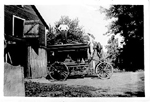 Hearse,  Edgar Williamson funeral business, ca 1910